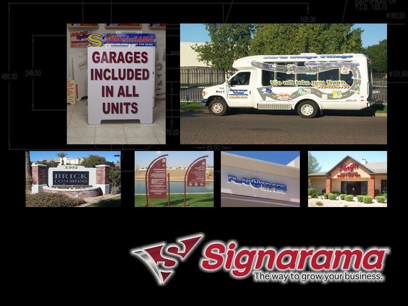 AZ Media Maven worked with Metro Signarama to improve blogs, website content, and social media presence.
