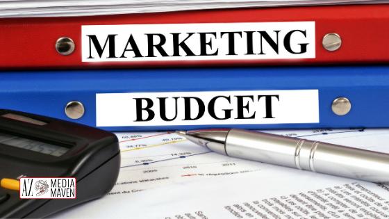 TIps for settinga digital marketing budget from AZ Media Maven.